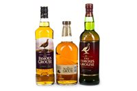 Lot 308-3 FAMOUS GROUSE BOTTLINGS