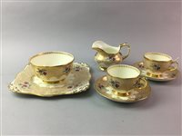 Lot 14-AN EARLY 20TH CENTURY TUSCAN CHINA TEA SERVICE