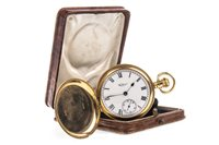Lot 768-A WALTHAM EIGHTEEN CARAT GOLD POCKET WATCH