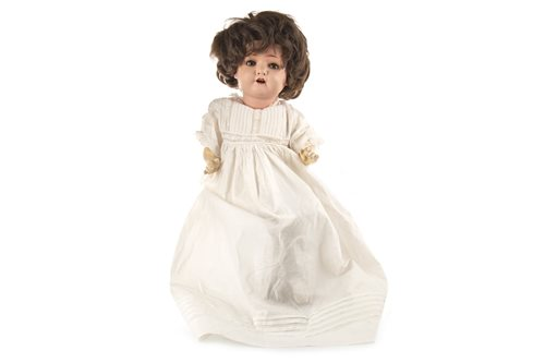 Lot 860-A VINTAGE GERMAN BISQUE HEADED DOLL