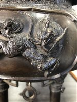 Lot 1078-A LARGE CHINESE BRONZE CENSER