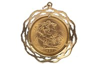 Lot 509 - A GOLD SOVEREIGN, 1967