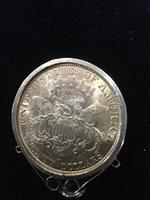Lot 506-A GOLD USA $20 TWENTY DOLLAR COIN, 1877