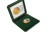 Lot 508 - A GOLD PROOF SOVEREIGN, 1980