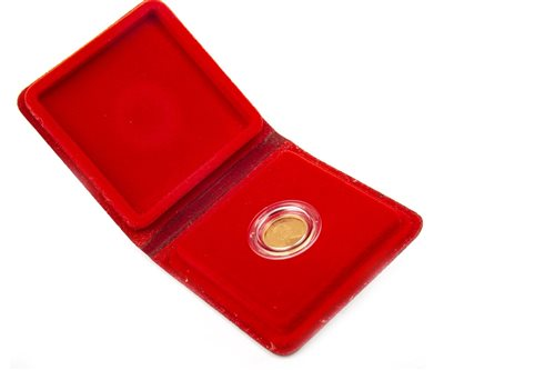 Lot 507-A GOLD PROOF HALF SOVEREIGN, 1980