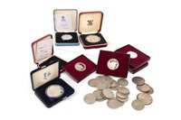 Lot 521 - A GROUP OF PROOF AND OTHER COINS