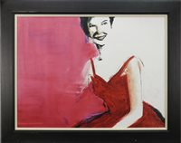 Lot 638-LINDA LEE OUR OWN MISS AMERICA, A DIGITAL PRINT AFTER NOAH SATERSTROM