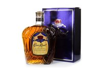 Lot 406-CROWN ROYAL ONE LITRE