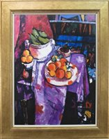 Lot 641-STILL LIFE, A GICLEE PRINT AFTER ARCHIE FORREST