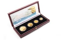 Lot 527 - THE ROYAL MINT 2006 BRITANNIA COLLECTION GOLD PROOF FOUR COIN SET