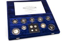 Lot 550-THE ROYAL MINT THE MILLENNIUM SILVER COLLECTION