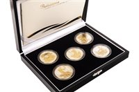 Lot 552-THE ROYAL MINT 2006 BRITANNIA GOLDEN SILHOUETTE COLLECTION