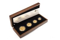 Lot 555 - A THE ROYAL MINT THE 2008 UK BRITANNIA FOUR-COIN GOLD PROOF SET