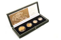 Lot 567 - A THE ROYAL MINT THE 2004 UNITED KINGDOM GOLD PROOF FOUR-COIN SOVEREIGN COLLECTION