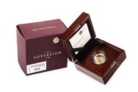 Lot 572 - THE ROYAL MINT THE SOVEREIGN 2017 GOLD PROOF COIN