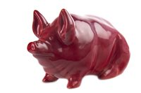 Lot 1230-A ROBERT HERON & SONS WEMYSS PIG
