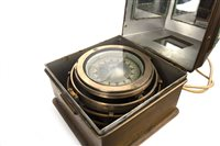 Lot 1423 - AN EAST GERMAN FREIGHTER BINNACLE