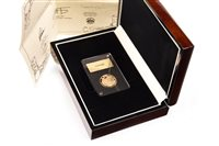 Lot 534-THE LONDON MINT OFFICE 100 YEARS ARMISTICE AND REMEMBRANCE GOLD SOVEREIGN