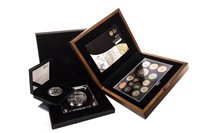 Lot 536-TWO PROOF COIN SETS AND A PROOF COIN