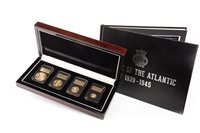 Lot 539-THE LONDON MINT OFFICE THE BATTLE OF THE ATLANTIC SOVEREIGN SET
