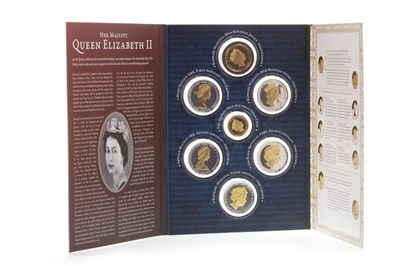 Lot 547-A NINE DECADES GLORIOUSLY ACCOMPLISHED SEVEN COIN SET