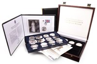 Lot 586 - A GROUP OF PROOF COINS AND COIN SETS