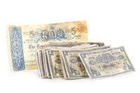 Lot 596 - A COLLECTION OF SCOTTISH 20TH CENTURY BANKNOTES