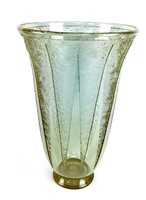 Lot 1235-A DAUM NANCY ART DECO GLASS VASE