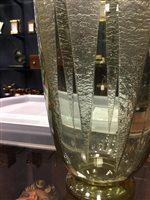 Lot 1235-A DAUM NANCY ART DECO GLASS VASE