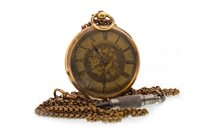 Lot 753-A CONTINENTAL 19TH CENTURY KEY WIND FOB WATCH