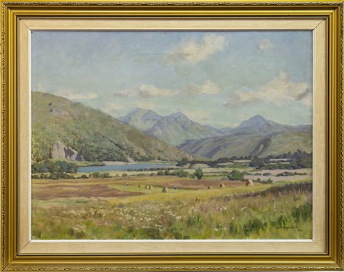 Lot 602-LOCH ETIVE, AN OIL BY DUNCAN MACGREGOR WHYTE