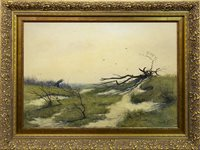 Lot 484-LANDSCAPE. A WATERCOLOUR BY CHARLES LOUIS PHILIPPE ZILCKEN