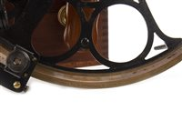 Lot 1427 - A SEXTANT BY H. HUGHES & SONS LTD. OF LONDON