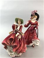 Lot 53-A LOT OF TWO ROYAL DOULTON FIGURES