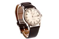 Lot 758-AN OMEGA SEAMASTER STAINLESS STEEL WRIST WATCH
