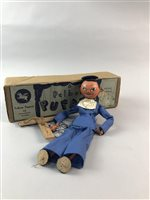 Lot 49-A PELHAM PUPPET OF A SAILOR