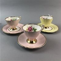 Lot 46-A CLARE PART TEA SERVICE
