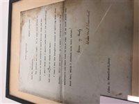 Lot 801 - A SIGNED COPY OF LONDON TO LADYSMITH VIA PRETORIA, BY WINSTON CHURCHILL