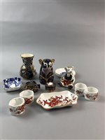 Lot 33-A LOT OF ROYAL CROWN DERBY CERAMICS