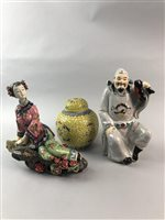 Lot 34-A LOT OF ASIAN CERAMICS