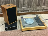 Lot 1428-A LINN SONDEK LP12 RECORD PLAYER WITH RELATED EQUIPMENT