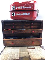 Lot 29-A LOT OF TWO TOOL CHESTS