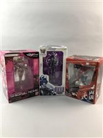 Lot 24-A LOT OF BOXED ANIME FIGURES