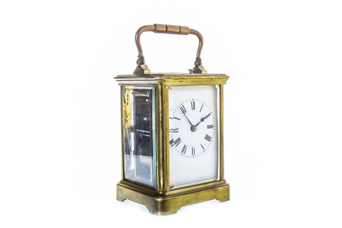 Lot 1430-A FRENCH CARRIAGE CLOCK BY HENRI JACOT