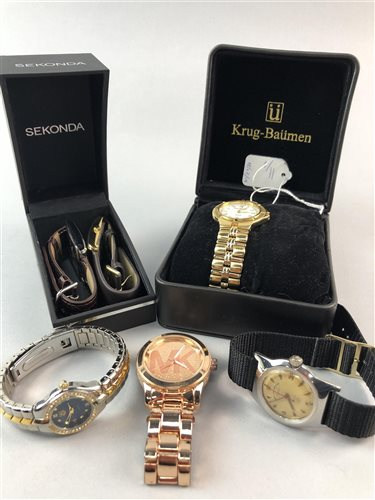 Lot 11-A WEST END WATCHES SOWAR PRIMA WRIST WATCH AND FIVE OTHERS