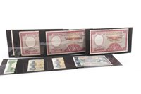 Lot 602 - EIGHT BANK NOTES