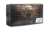 Lot 849-A GEORGE V SILVER CIGARETTE BOX