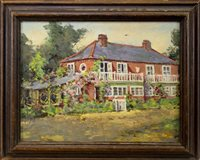 Lot 481-COUNTRY HOUSE, AN OIL ATTRIBUTED TO WILFRED GABRIEL DE GLEHN