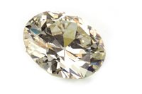 Lot 263-A CERTIFICATED UNMOUNTED DIAMOND, 2.84 CARATS