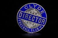 Lot 1928 - CLYDE F.C. INTEREST - CLUB DIRECTORS BADGE